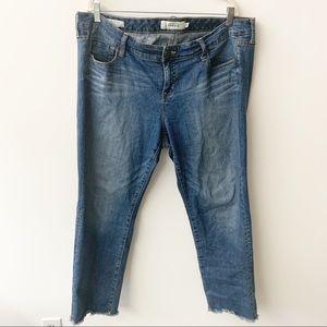 Torrid Raw Hem Ankle Boyfriend Jeans Sz 18